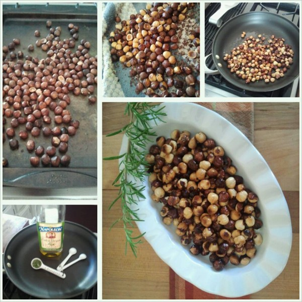 Toasty Rosemary Hazelnuts-The Prize of Cooking