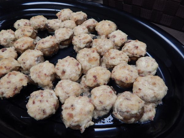 Smoked Gouda and Bacon Stuffed Mushrooms-The Prize of Cooking