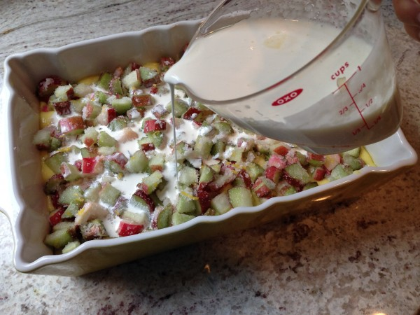 Rhubarb Lemonade Dessert-The Prize of Cooking