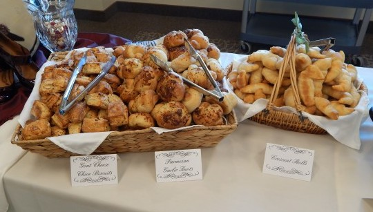 Assorted Baked Breads-The Prize of Cooking