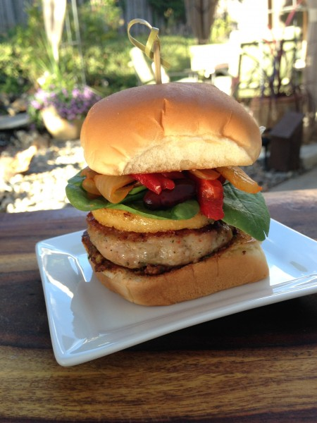 Tuscan Chicken Sausage Polenta Sandwich-The Prize of Cooking