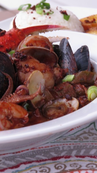 Cajun Kicked Cioppino